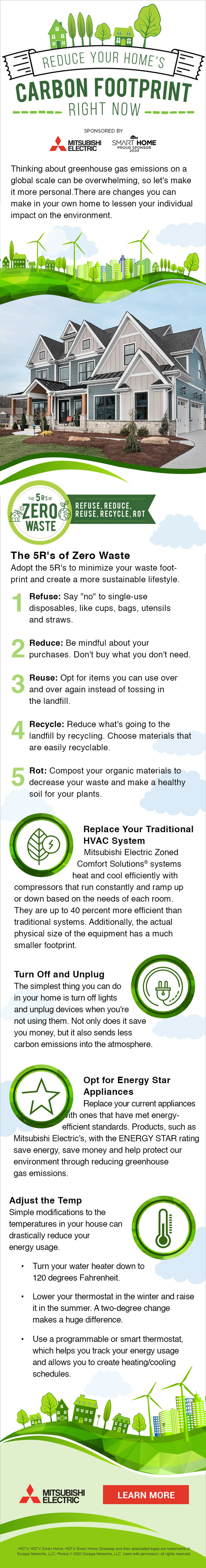 Reduce Your Home's Carbon Footprint Right Now