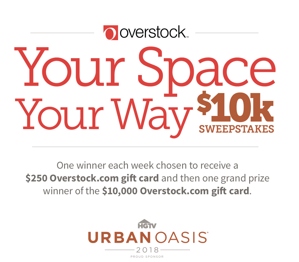 overstock your space your way 10k sweepstakes sponsored sweeps hgtv